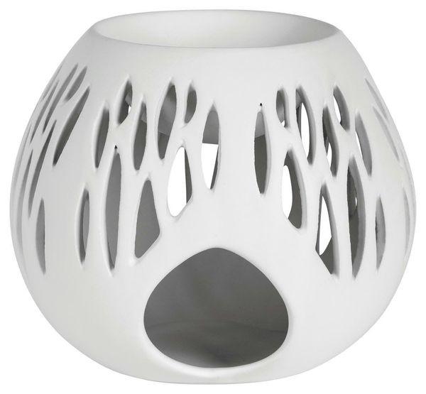 Duftlampe 13x12,8x11cm Giglio, weiß