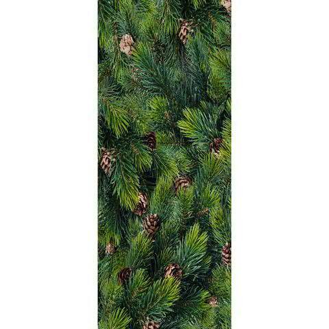 Banner 75x180cm Tannengrün