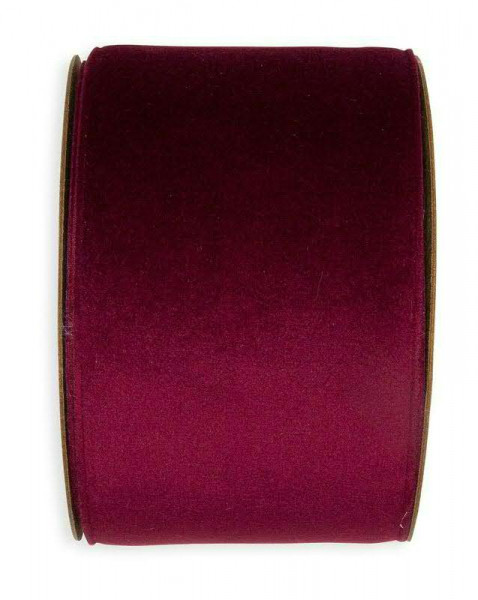 Band Samt 93401/70mm 8m, 556 berry
