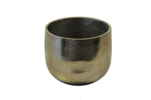 Topf Alu antik D13H13cm, silber