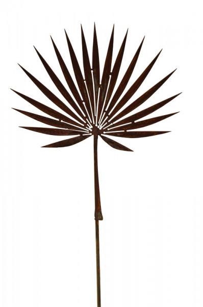 Rost Palmblatt 45cm auf Stab 120cm