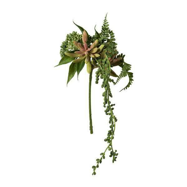 Sukkulenten Mix Pick 34cm, grün/rosa