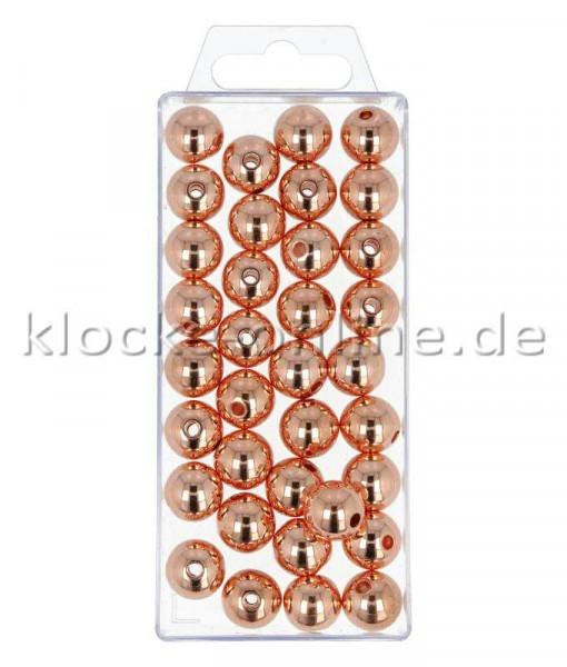 Perlen 14mm 35St., met.kupfer