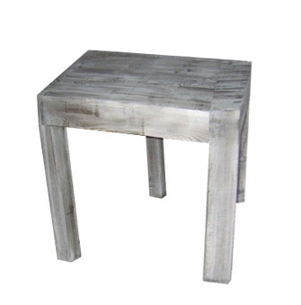 Tisch Holz 75x100x100cm, old pine