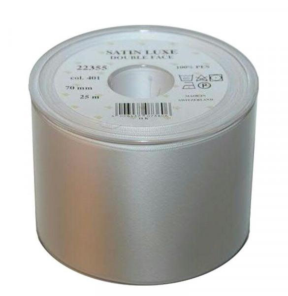 Band Satin 22355/70mm 25m, 401 weiß
