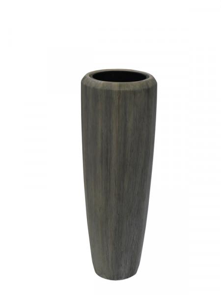 Vase FS130 H97cm m.E. SP, braungrau