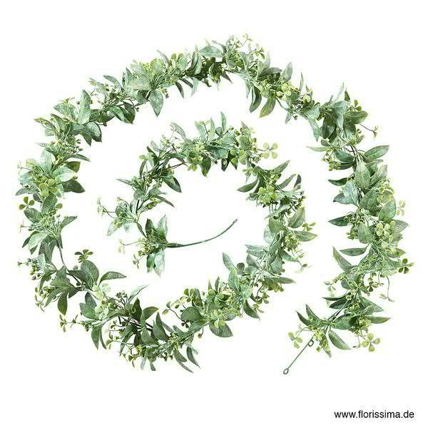 Blätter Girlande 256cm, grün