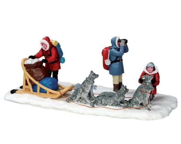North Pole or Bust 20,5x7,3cm