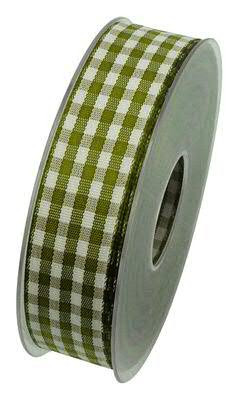 Band Karo X432/25mm 20m, 54 oliv