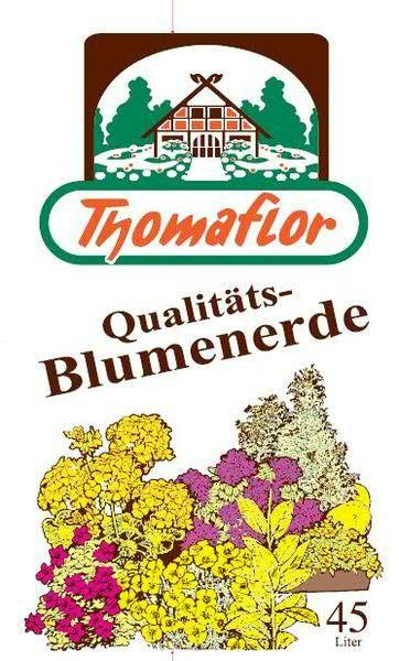 Thomaflor Blumenerde 45l Pal.=51Sack