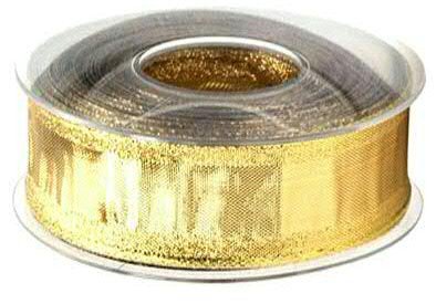 Band 7752/40mm 25m m.Draht, 15 gold