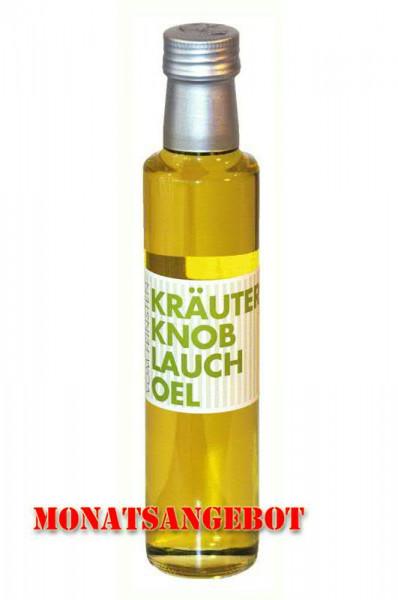 Öl Knoblauch 250ml Monatsangebot
