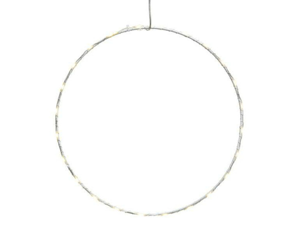 LED Ring D50cm 60LED outdoor Micro, warm weiß