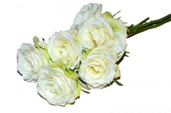 Rosen Bund 21cm, weiß
