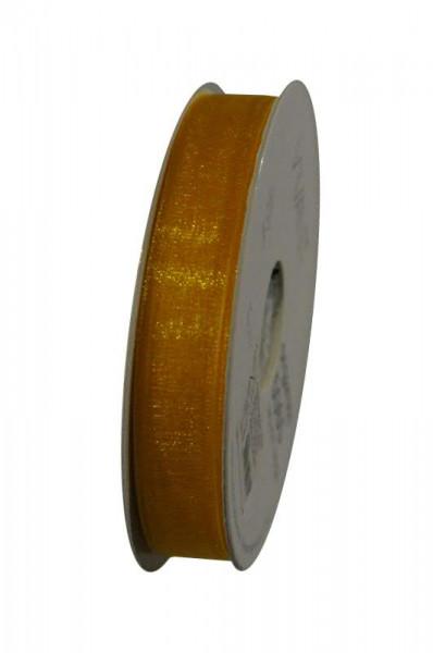 Band Organza 5065/15mm 50m, 55 gelb