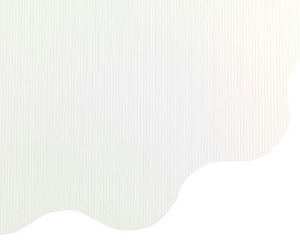 Rondella 70cm Millerighe, weiß