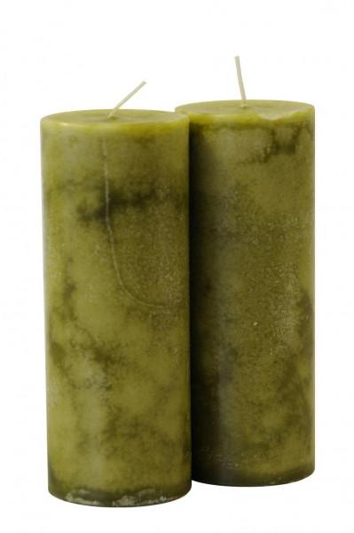 Trendkerzen 180/70, olive