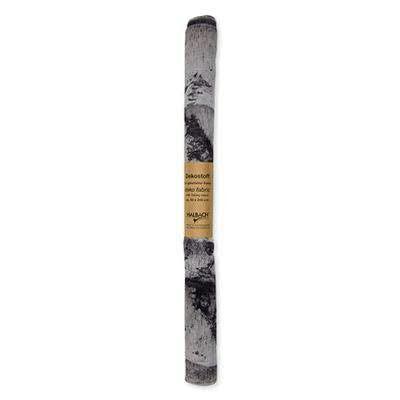 Stoff 50x280cm Birken, 22 grau