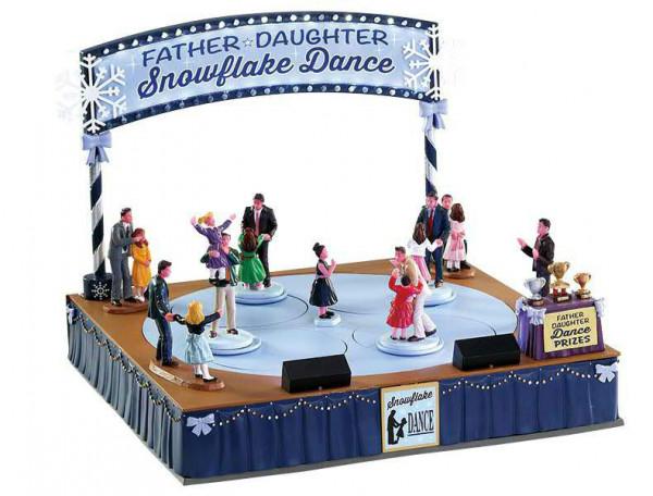 Father Daughter Dance 28,5x22,5cm animiert, Beleuchtet, Sound, Adapter