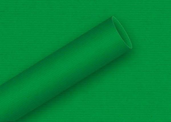Geschenkpapier 2mx70cm Kraft, grün