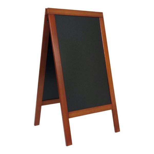 Gehwegtafel 139x71,5x66cm, mahagoni