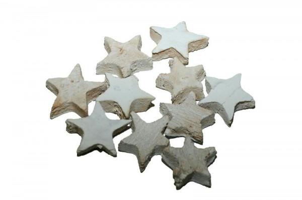 Cocos Sterne 100St.3cm, weiß