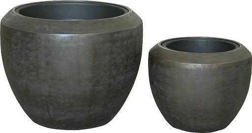 Kübel FS165 D56/40cm 2er Satz, graphit