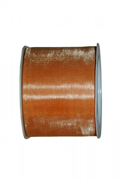 Band Organza 4335/70mm 25m, 52 apricot