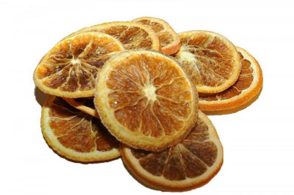 Orangenscheiben 1kg, orange
