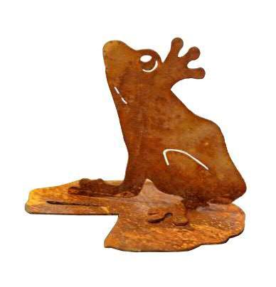 Rost Frosch 27x33cm a.Blatt