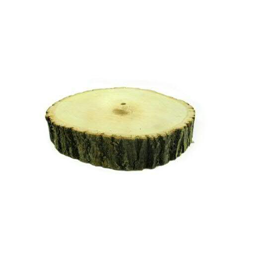 Scheiben Holz D23-25x4cm, natur
