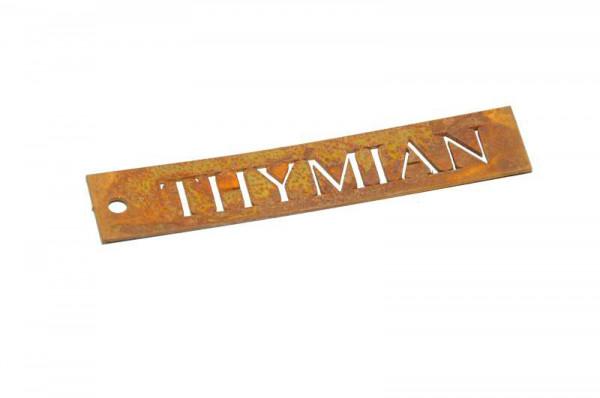 Rost Schild Thymian B2cm