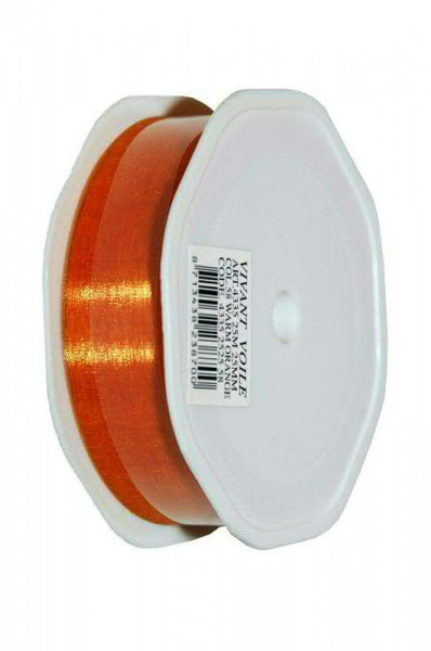 Band Organza 4335/25mm 25m, 58 cognac