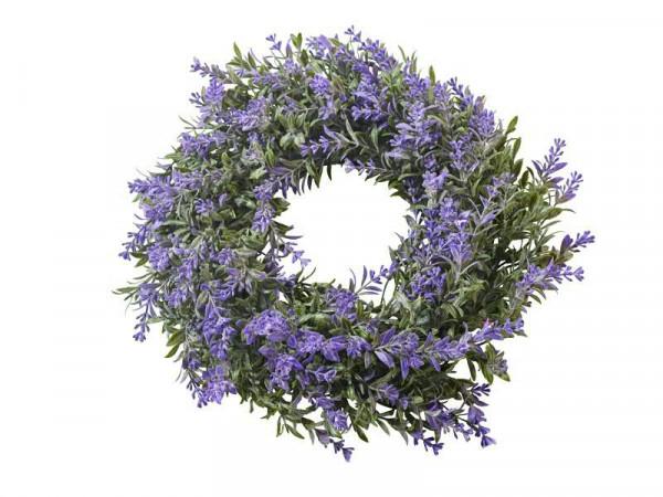Lavendel Kranz 20cm, lila