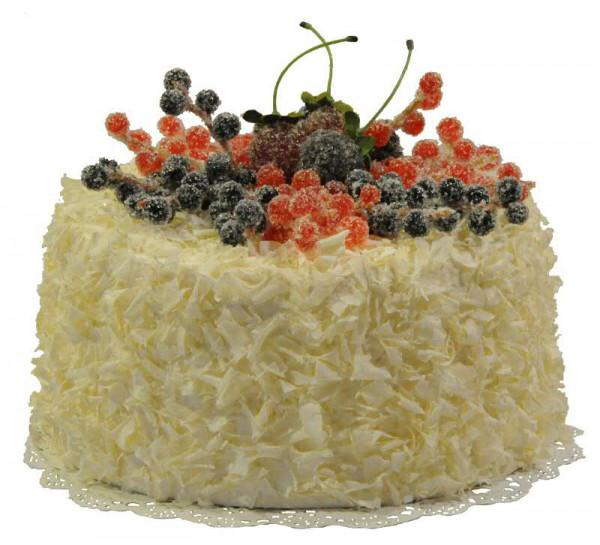 Torte D20h14cm Johannisbeere Creme Kuchen Torten