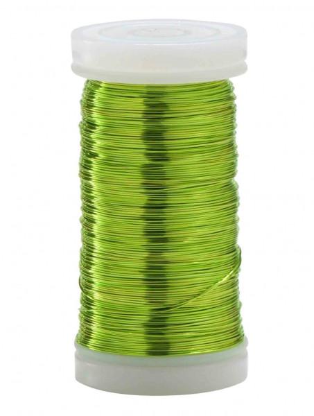 Dekodraht 0,30 Rl/100g, apfelgrün