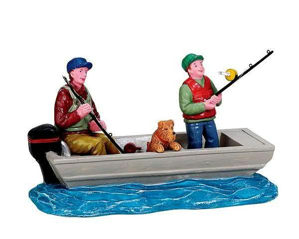 Family Fishing Trip 10x6cm