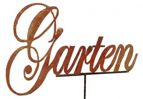 Rost Gartenstecker 64x120cm Garten