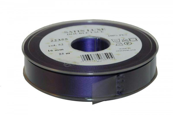 Band Satin 22355/16mm 25m, 052 lila