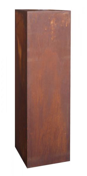 Rost Säule eckig 30x30x140cm