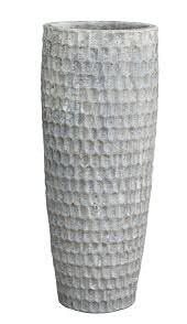 Vase GK3147 H95cm, sand weiß