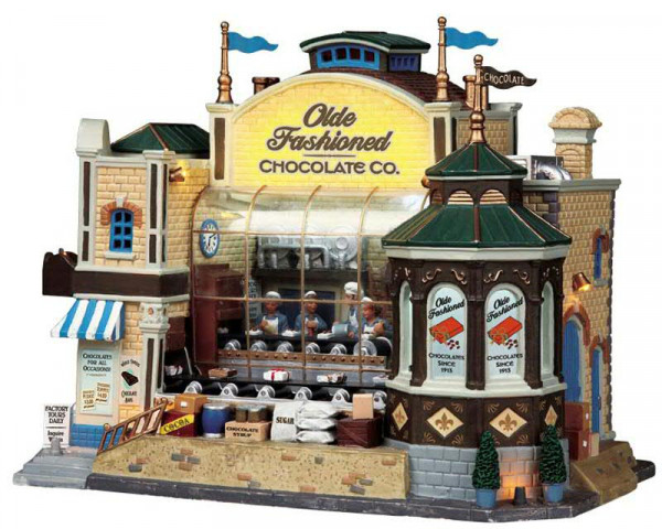 Olde Fashion Chocolate 29,5x22cm animiert,Sound&Beleuchtung,Adapter