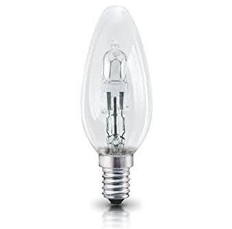 Leuchtmittel LED SP E14 Kerzenform Halogen 23Watt, klar