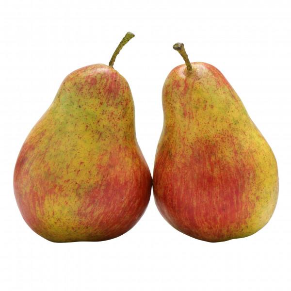 Birne 12cm, rot/grün