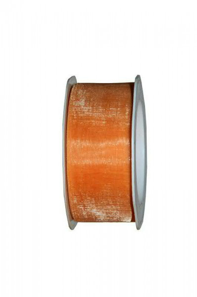 Band Organza 4335/38mm 25m, 52 apricot