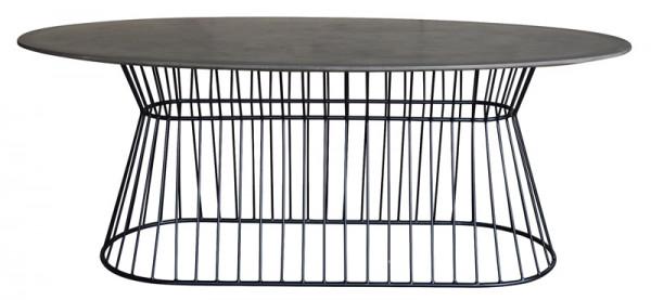 Tisch MT256 H75cm D200x100cm SP, zement