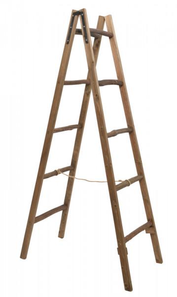 Top Leiter Holz 50x95x175cm A-Form, natur   Weitere Ladenausstatter MI23