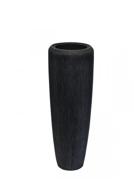 Vase FS130 H97cm m.E., grau