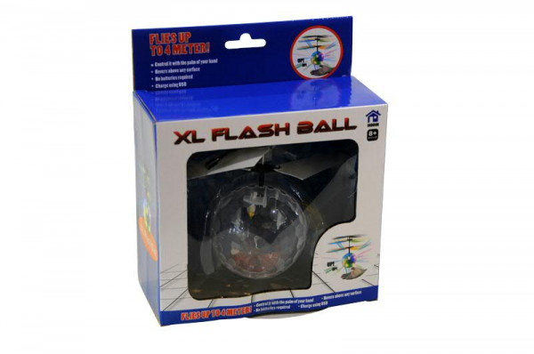 Heli Ball SP D8H14cm mit Licht + USB