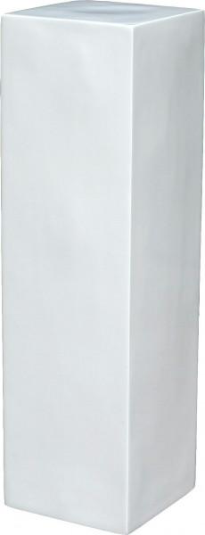 Säule FS120 H 80cm, glz.weiß
